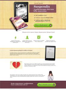 Продающий одностраничник (Landing Page) Шаблон №4
